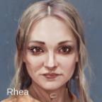 Rhea, Sklavin der Gens Furia