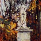 Giovanni Boldini Statue in the Parc of Versailles 1909